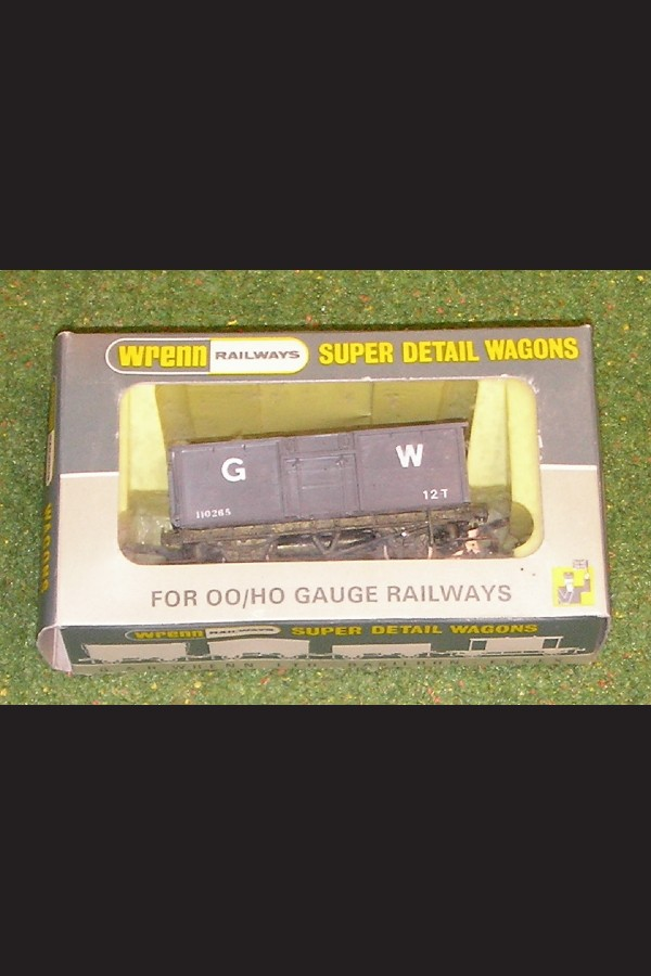 WRENN RAILWAYS OO GAUGE WAGONS W5029 STEEL WAGON G.W.