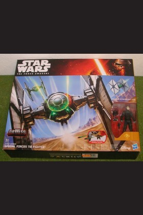 STAR WARS FORCE AWAKENS EPIC BATTLES FIRST ORDER TIE FIGHTER with PILOT