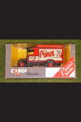 CORGI CLASSICS C933 THORNYCROFT VAN BUY PUNCH FOR THE BEST JOKES
