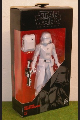 STAR WARS FORCE AWAKENS BLACK SERIES 6 INCH FIRST ORDER SNOWTROOPER