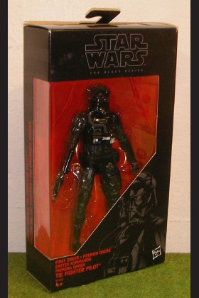 STAR WARS FORCE AWAKENS BLACK SERIES 6 INCH FIRST ORDER TIE FIGHTER PILOT