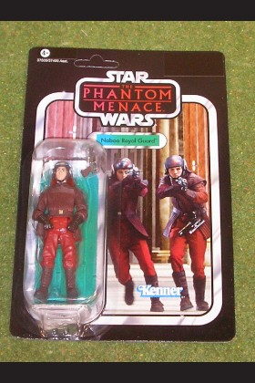 STAR WARS VINTAGE COLLECTION PHANTOM MENACE NABOO ROYAL GUARD VC 83