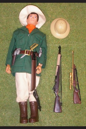 VINTAGE ORIGINAL LOOSE ACTION MAN JUNGLE EXPLORER