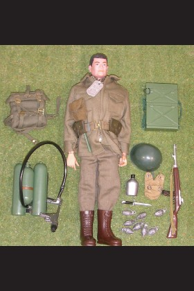 VINTAGE ORIGINAL LOOSE - GI JOE - COMBAT FIELD JACKET - 61