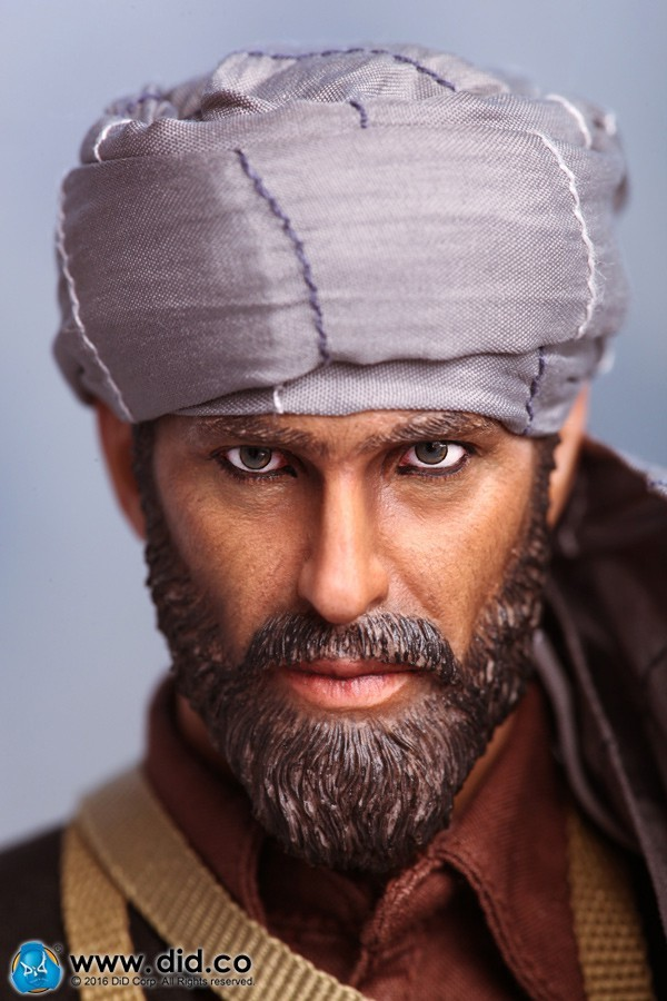 DRAGON IN DREAMS - DID - 1/6 - MODERN - BOXED - ASAD - AFGHANISTAN CIVILIAN FIGHTER - THE SOVIET–AFGHAN WAR 1980s - I80111
