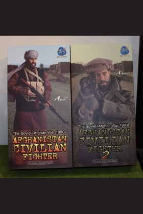 ASAD & ARBAAZ - AFGHANISTAN CIVILIAN FIGHTER 1 & 2 - THE SOVIET–AFGHAN WAR 1980s