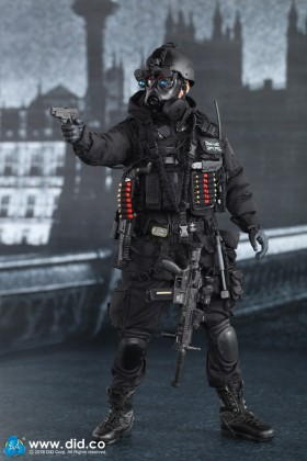 DRAGON IN DREAMS - DID - 1/6 - MODERN - BOXED - BRITISH - SEAN - SAS B SQUADRON - BLACK OPS TEAM