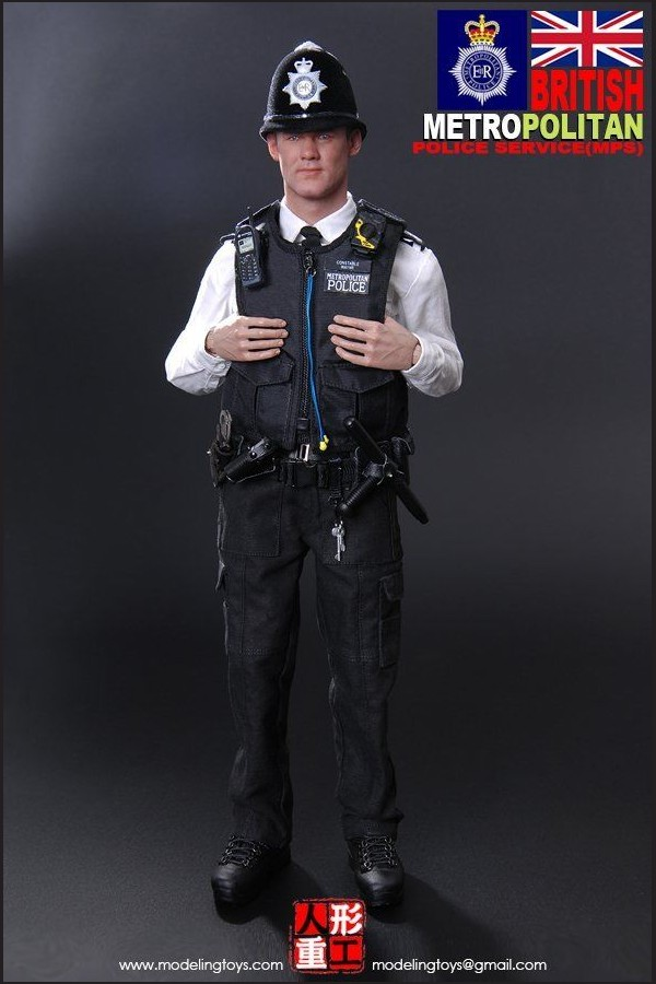 COMING SOON - MODELING TOYS - 1/6 - BRITISH - METROPOLITAIN  POLICE SERVICE - MMS9001