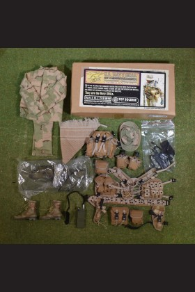 TOY SOLDIER & WORKSHOP U.S. NAVY SEAL RIFLEMAN/GRENADIER - DESERT VERSION - (NO FIGURE )
