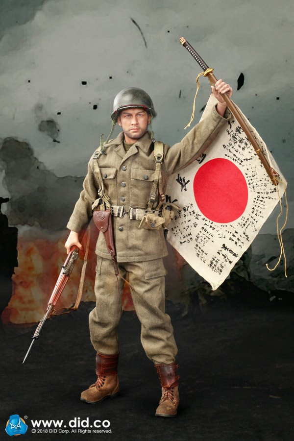 DRAGON IN DREAMS - DID - 1/6 SCALE - WW II - BOXED - US - SAM - US ARMY 77th Infantry Division  - A80129