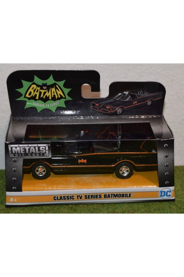 DIE-CAST JADA 1/32 SCALE 1966 CLASSIC TV SERIES BATMOBILE