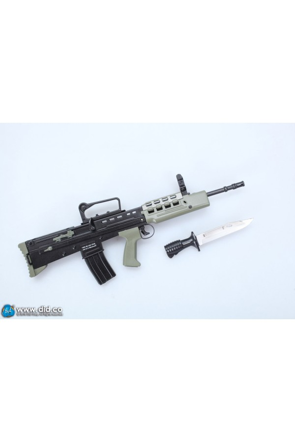 DRAGON IN DREAMS DID 1/6 SCALE MODERN BRITISH SA80 (TOY) RIFLE FROM THE GUARDS