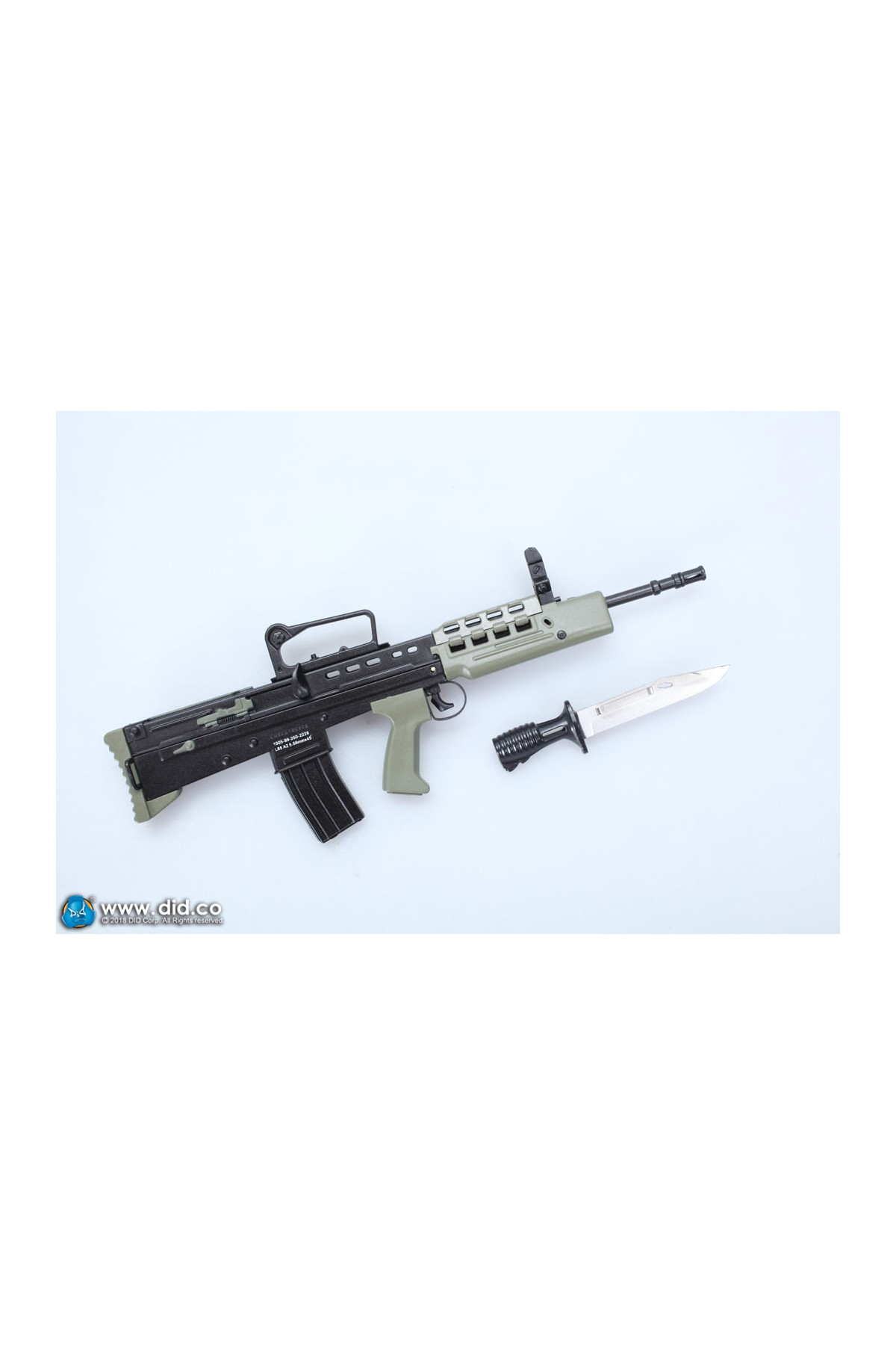 DRAGON IN DREAMS DID 1//6 SCALE MODERN BRITISH SA80 RIFLE FROM THE GUARDS TOY
