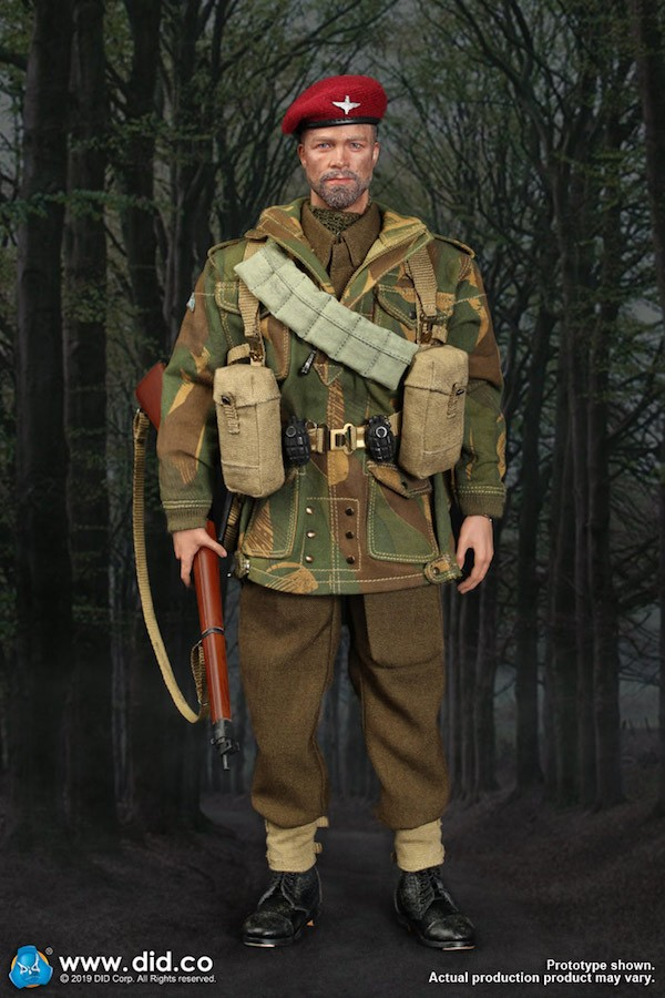 DID DRAGON IN DREAMS 1:6TH SCALE WW2 BRITISH 1ST AIRBORNE WEBBING FROM  ROY