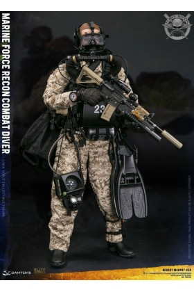 DAM TOYS DAMTOYS 1/6 SCALE MODERN US MARINE FORCE RECON COMBAT DIVER MARPAT Ver DESERT 78056