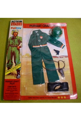 ORIGINAL VINTAGE ACTION MAN PURSUIT CRAFT PILOT OUTFIT (A)