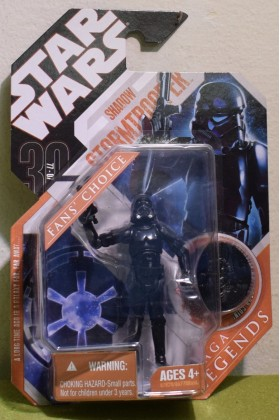 STAR WARS CARDED 30TH ANNIVERSARY COIN SHADOW STORMTROOPER SAGA LEGENDS