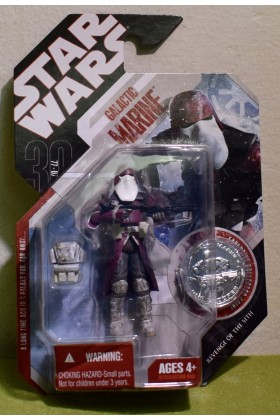 STAR WARS CARDED 30TH ANNIVERSARY COIN GALACTIC MARINE REVENGE OF THE SITH - 02