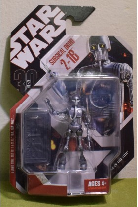 STAR WARS CARDED 30TH ANNIVERSARY COIN 2-1B SURGICAL DROID REVENGE OF THE SITH - 06
