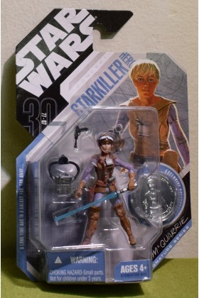 STAR WARS CARDED 30TH ANNIVERSARY COIN CONCEPT McQUARRIE STARKILLER HERO - 37