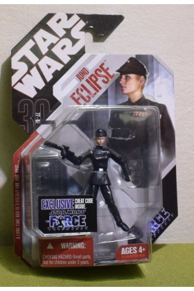 STAR WARS CARDED 30TH ANNIVERSARY JUNO ECLIPSE FORCE UNLEASHED - 15