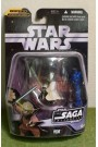 STAR WARS CARDED SAGA COLLECTION ATTACK CLONES 019 YODA BATTLE OF GEONOSIS