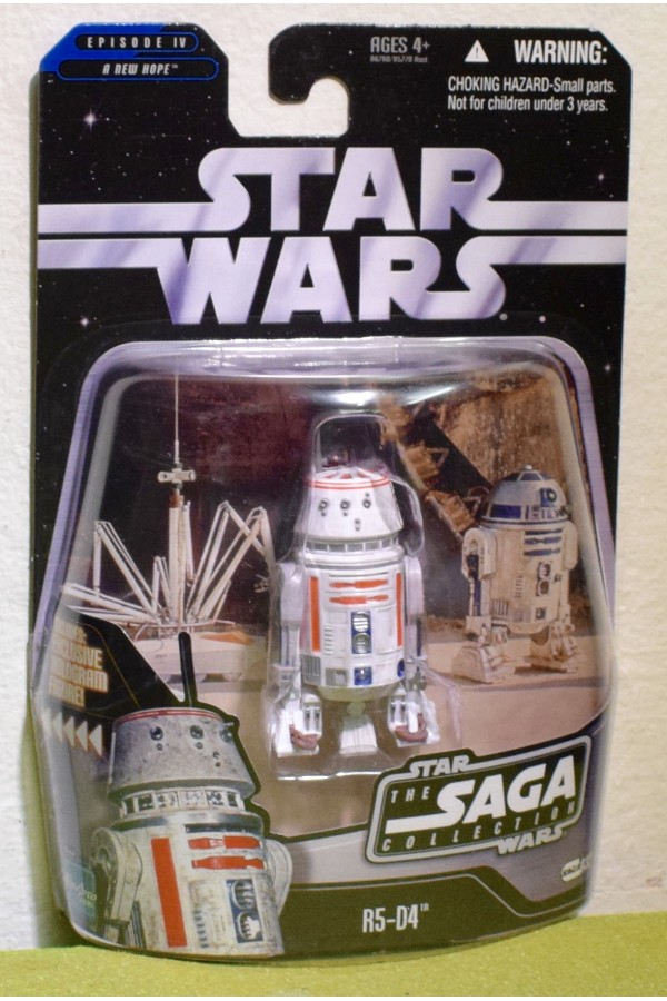 STAR WARS CARDED SAGA COLLECTION 032 NEW HOPE R5-D4 DROID