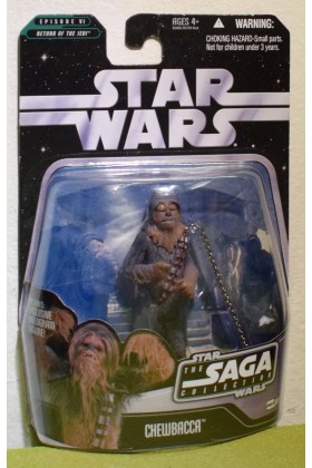 STAR WARS CARDED SAGA COLLECTION RETURN OF THE JEDI 005 CHEWBACCA