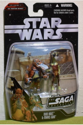 STAR WARS CARDED SAGA COLLECTION THE PHANTOM MENACE 051 DUD BOLT & MARS GUO
