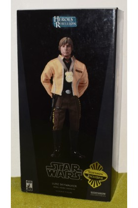 SIDESHOW 1/6 SCALE STAR WARS LUKE SKYWALKER YAVIN IV 2141
