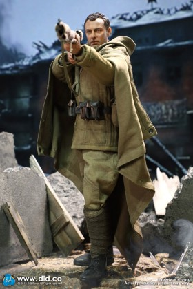 DRAGON IN DREAMS - DID - 1/6 SCALE - WW II - RUSSIAN - VASILY ZAYTSEV BATTLE OF STALINGRAD - D80139B