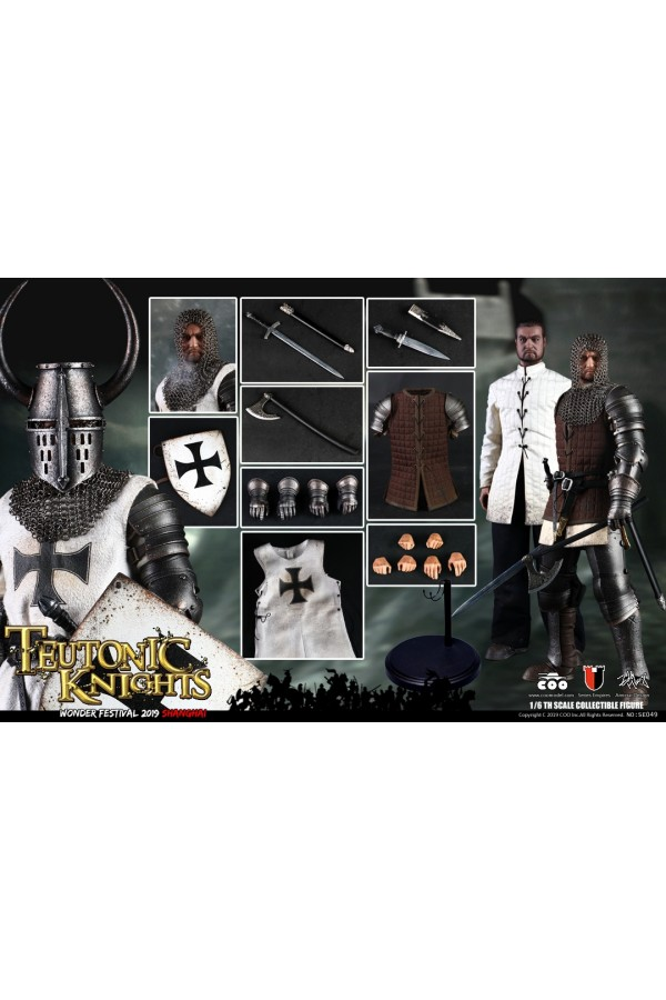 COOMODEL 1/6 SCALE SERIES OF EMPIRES TEUTONIC KNIGHTS SE049 WONER FESTIVAL 2019 EXCLUSIVE