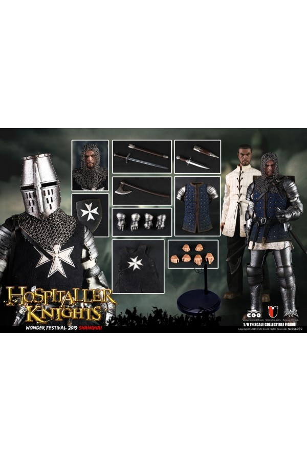 COOMODEL 1/6 SCALE SERIES OF EMPIRES HOSPITALLER KNIGHTS SE050 WONER FESTIVAL 2019 EXCLUSIVE