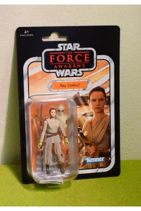 STAR WARS VINTAGE COLLECTION REY (JAKKU) THE FORCE AWAKENS VC116