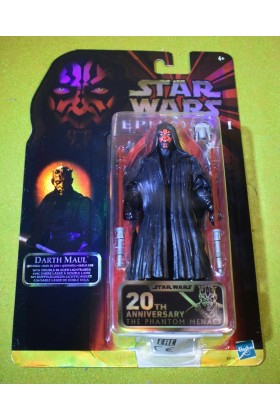 "STAR WARS BLACK SERIES 6"" INCH 20th ANNIVERSARY DARTH MAUL PHANTOM MENACE"