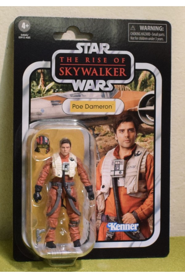 STAR WARS THE VINTAGE COLLECTION THE RISE OF SKYWALKER POE DAMERON VC160