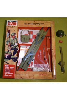 VINTAGE ACTION MAN 40th CARDED ACTION SOLDIER BAZOOKA 1//6 SCALE