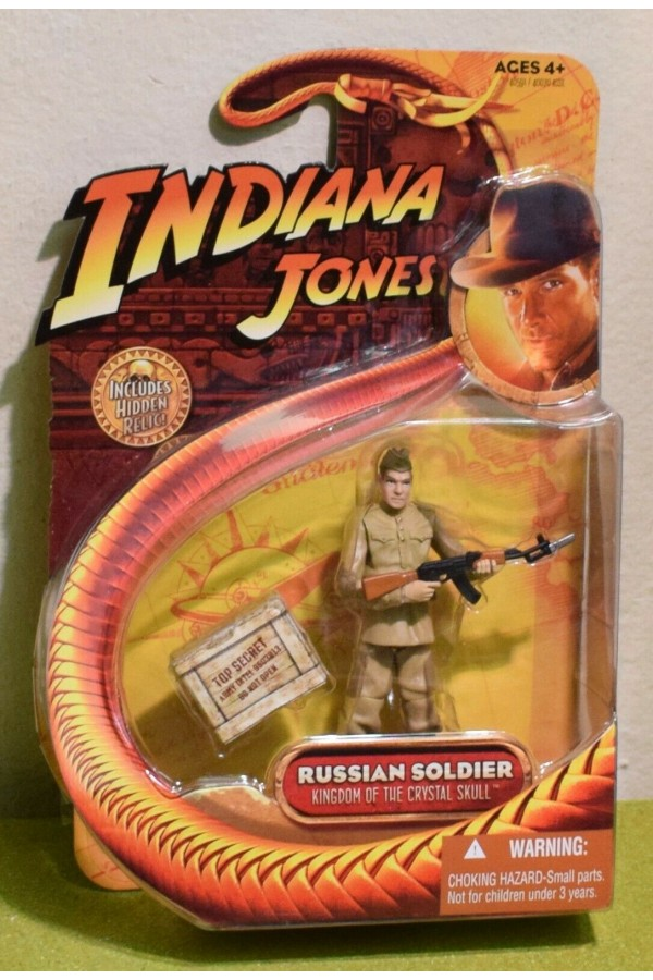 KINGDOM OF THE CRYSTAL SKULL - RUSSIAN SOLDIER