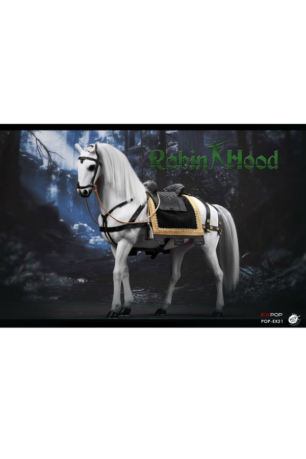 POPTOYS 1/6 SCALE KNIGHTS WAR HORSE EX21-B for ROBIN HOOD