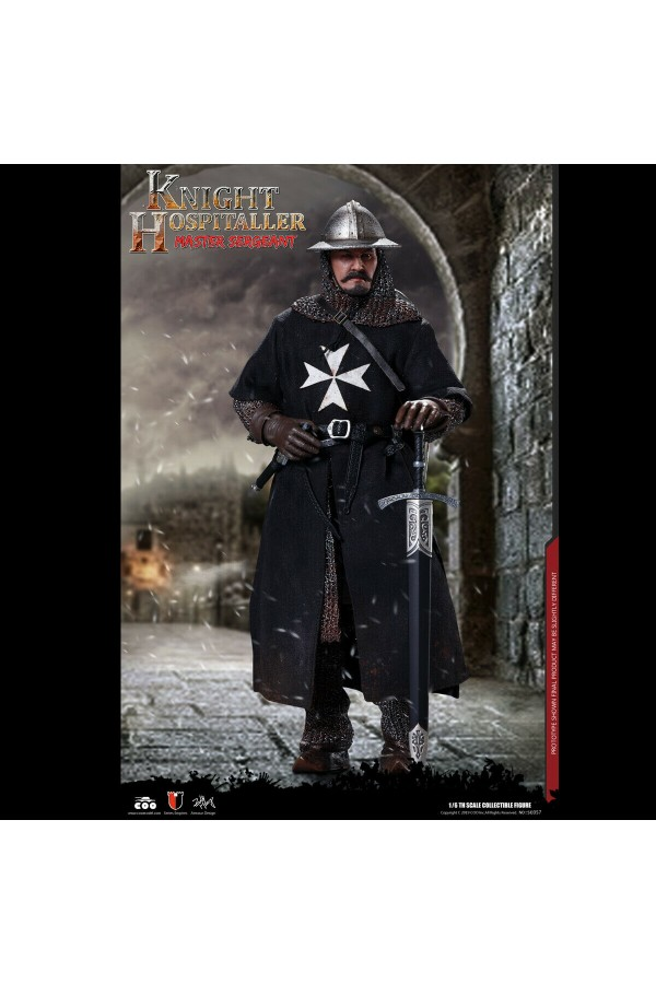 COOMODEL 1/6 SCALE SERIES OF EMPIRES KNIGHT HOSPITALLER SE057