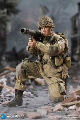 DRAGON IN DREAMS DID Palm Hero Series 1/12 SCALE WW II US RYAN 101st Airborne Division XA80001