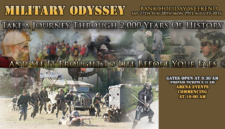This is the Show of all Shows!  Military Odyssey celebrates its 16th year.