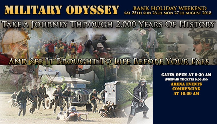 This is the Show of all Shows!  Military Odyssey celebrates its 17th year.